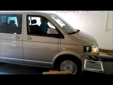 rls chiptuning vw t5 103kw youtube