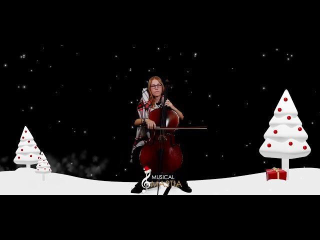 🎄 Noche de Paz | Silent Night | Solo Cello | Feliz Navidad | Musical Mastia