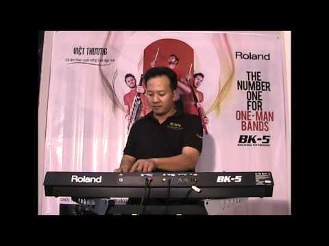 Điệu Bolero trên Roland Bk 5