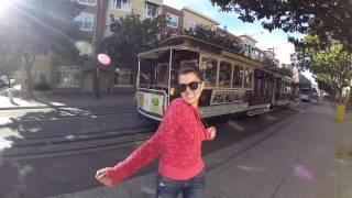 Это Сан-Франциско..(Снято и смонтировано на iPhone 6 в приложении iMovie Когда мы подъезжали к Сан-Франциско, в голове почему-то засела..., 2015-05-01T06:52:47.000Z)