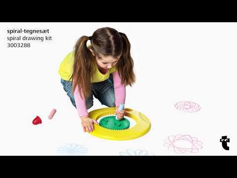 Flying Tiger Copenhagen Instructions  - Spiral drawing kit - 3003288