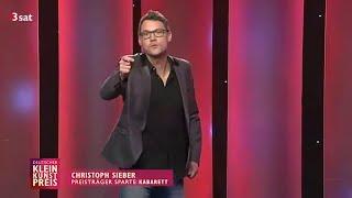 Christoph Sieber - Kleinkunstpreis 2015