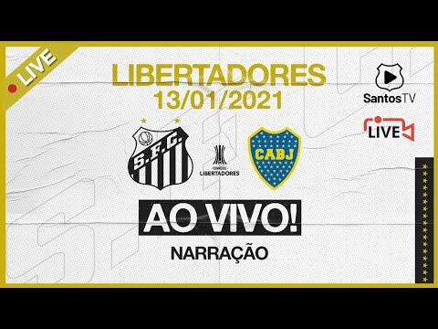 🔴 AO VIVO: SANTOS 3 x 0 BOCA JUNIORS | CONMEBOL LIBERTADORES (13/01/21)