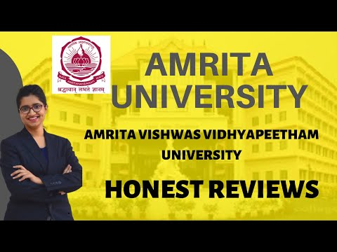 AMRITA UNIVERSITY | ADMISSION PROCEDURE | COURSES | FEES | PLACEMENTS