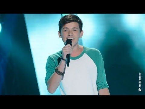 Chris Sings The A Team | The Voice Kids Australia 2014