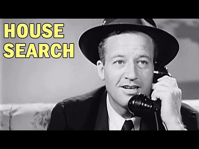 OSS - Spy Training Film - House Search - WW2 Era OSS Film -1942