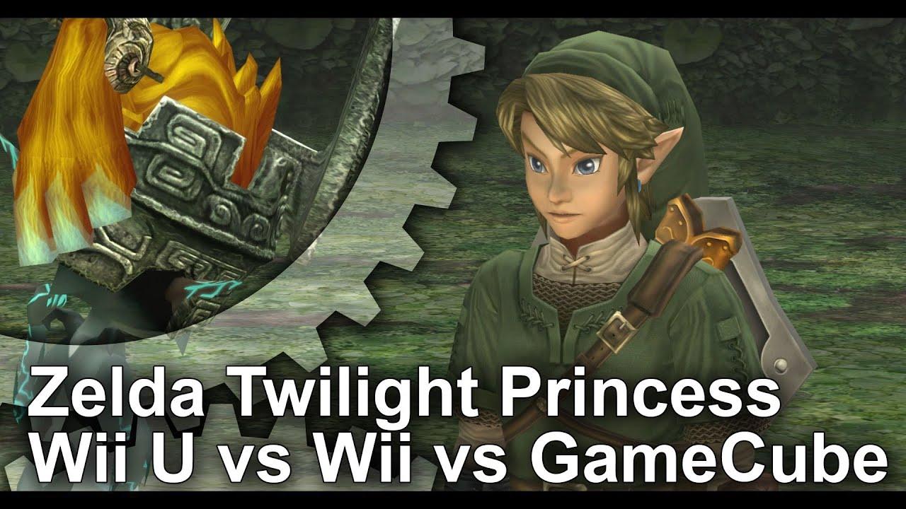 Zelda: Twilight Princess HD - Wii U vs  GameCube vs  Wii