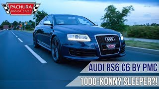 1000HP 1150Nm AUDI RS6 C6 sleeper BY Pachura Moto Center !