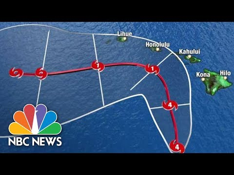 Watch Live: Tracking Hurricane Lane | NBC News