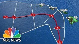 Watch Live: Tracking Hurricane Lane | NBC News