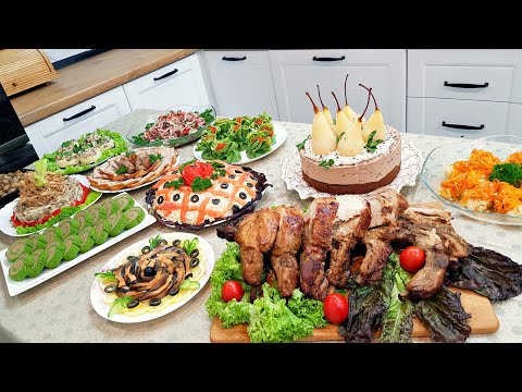 Меню на НОВЫЙ ГОД 2021🎄 Готовлю 12 блюд! Пусть Ваш Праздник Будет Самым Вкусным И Красивым!