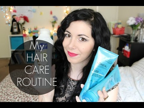 my-products-and-my-hair-care-routine!