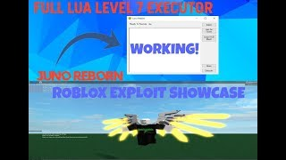✔️ NEW ROBLOX EXPLOIT ✔️ JUNO REBORN ✔️ LEVEL 7 ✔️ LOADSTRINGS w/ GETOBJECT! ✔️