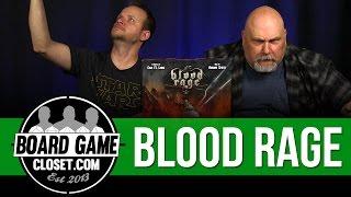 Blood Rage Board Game