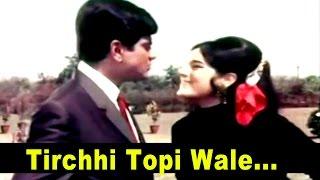 Tirchhi Topi Wale - Bollywood Fun Song - Lata Mangeshkar @ Jigri Dost - Jeetendra, Mumtaz