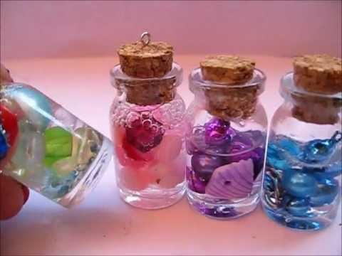 Diy Glass Jar Pendants Kawaii Youtube