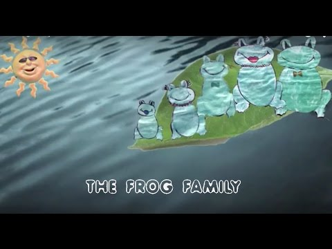 The Frog Family - YouTube