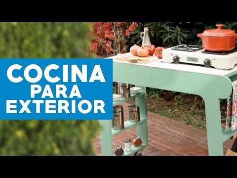 C mo construir una cocina para el exterior youtube for Como hacer una cocina integral