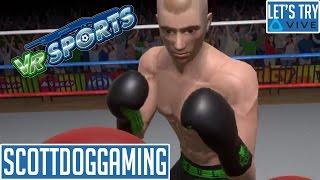 VR Sports - VR Gameplay - VR Game (Vive) Let