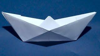 як зробити кораблик з паперу відео для маленьких дітей