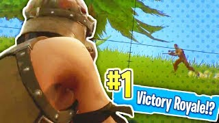 Can Bless Get The Solo VICTORY!? | Fortnite (Funny!)