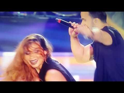 Luis fonsi Despacito  en vivo(concurso de belleza) #suscribete