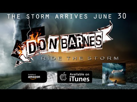 Don Barnes - Feelin' Stronger Everyday (Album 'Ride The Storm' Out June 30)