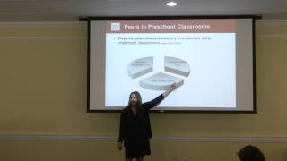 Laura Justice gives Curry Research Lecture on 4/11/14