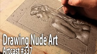 How To Draw A Nude Girl / Art Tutorial