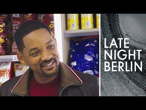 Will Smith trifft Klaas im Kiosk | Late Night Berlin | ProSieben
