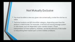 Live Forex Trading: Trading Styles Discretionary vs Systematic approach