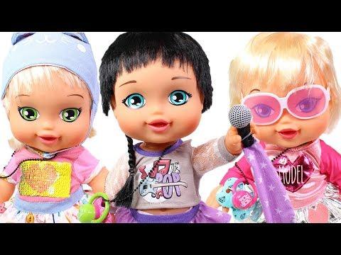 👶JAGGETS 👶 Paula Pop, Megan Byte y Mini Model de Jaggets van a la guardería y aprenden jugando