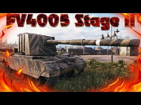 FV4005 Stage II, ВОТ ЭТО БЫЛО ЧЁТКО, 11к УРОНА, ВОИН