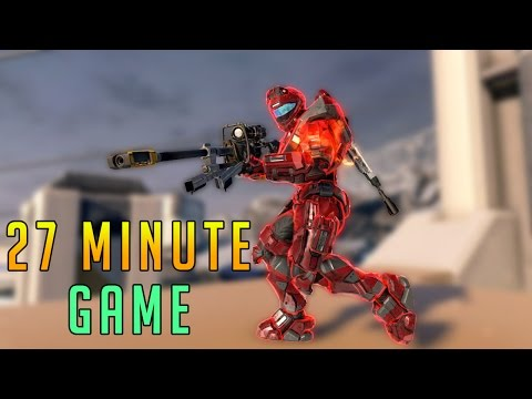 Halo 5 Warzone - 27 Minute Sweaty Game on Stormbreak (Stream Highlight Quality)