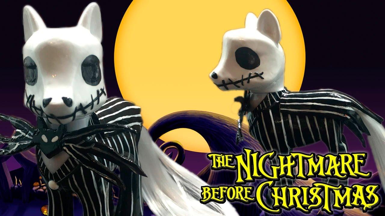 Custom JACK SKELLINGTON Pony MLP | Nightmare Before Christmas My ...