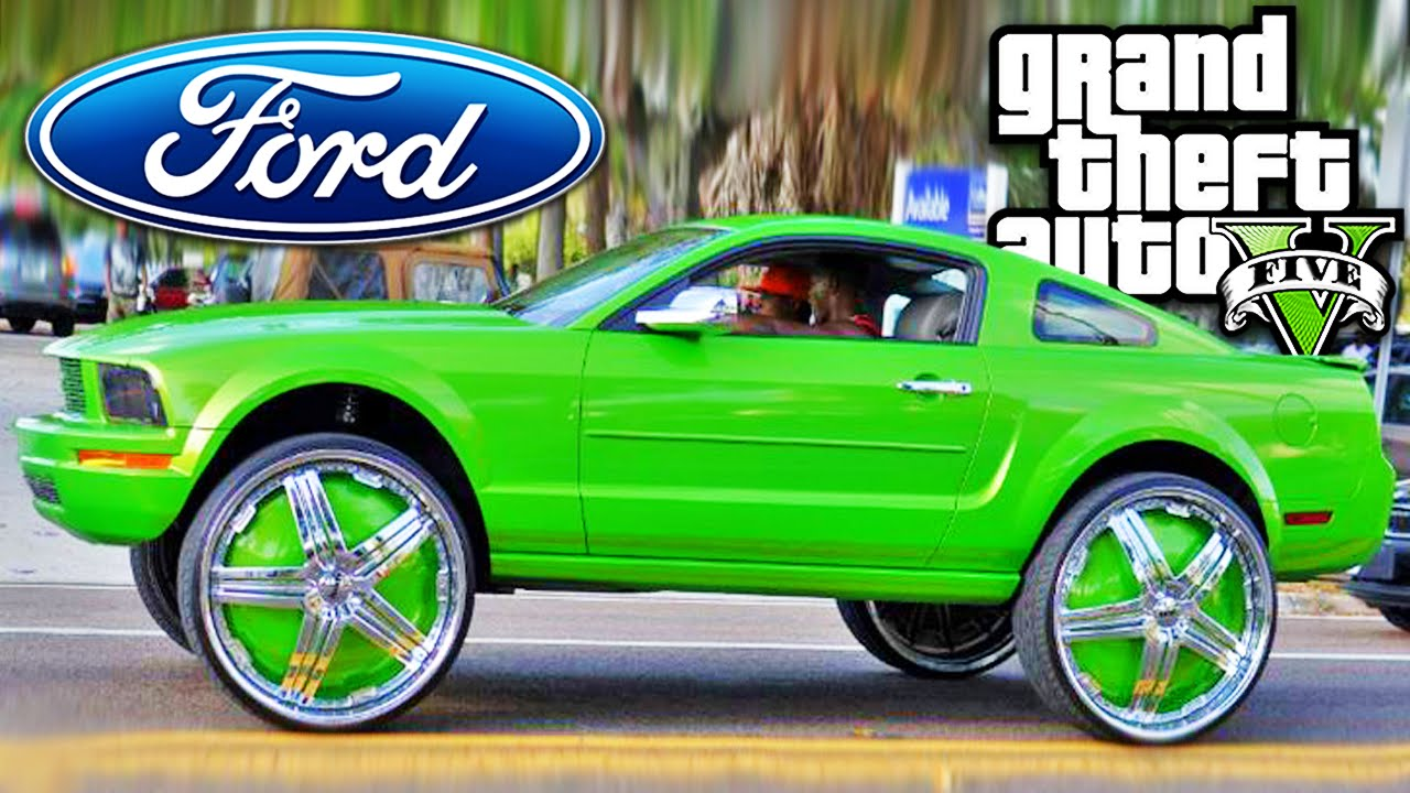 gta 5 carro ford mustang tuning youtube. Black Bedroom Furniture Sets. Home Design Ideas