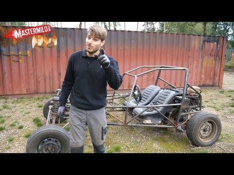 'Build a buggy in your backyard' part #4; Driveshafts, cooling system & driving