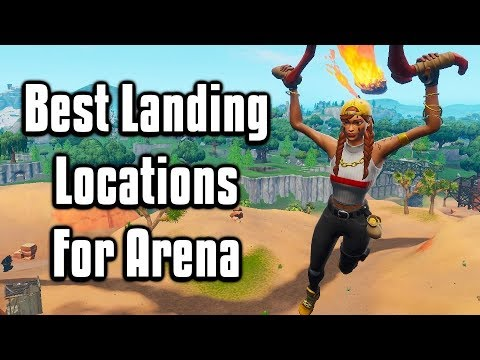 Best Landing Spots For Arena + Scrims! - Fortnite Battle Royale (Season 10)