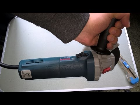 Unboxing and Assembly of Bosch GWS 750-115 Professional Angle Grinder