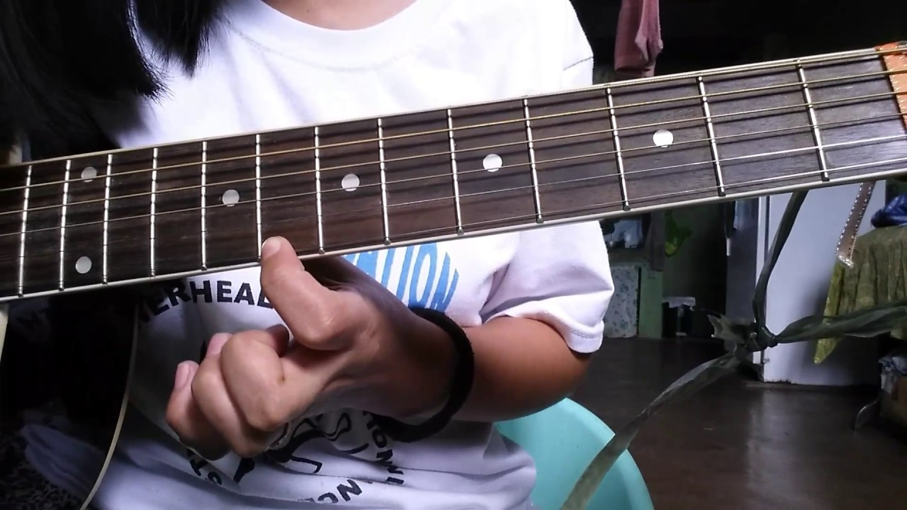 Easy Guitar Dance With My Father Intro Youtube