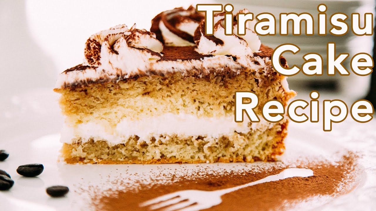 Dessert Tiramisu Cake Recipe Natashas Kitchen YouTube