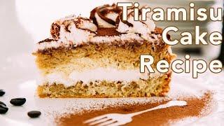 Dessert: Tiramisu Cake Recipe - Natashas Kitchen