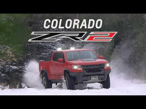 2018 Chevrolet Colorado ZR2 Review Offroad, Jumps, and Drifts