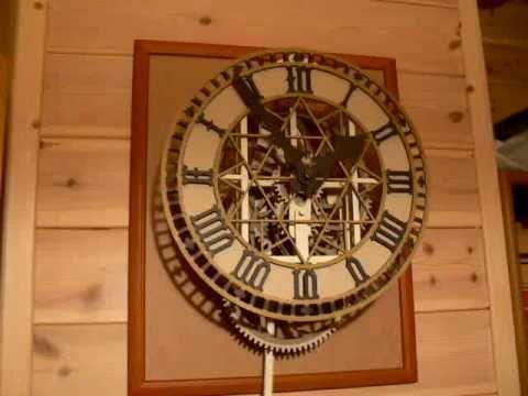 paper clock finished youtube. Black Bedroom Furniture Sets. Home Design Ideas