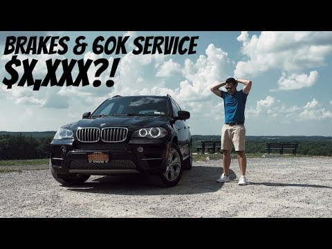BMW X5 BRAKES COST HOW MUCH?!