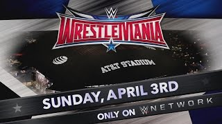 WrestleMania takes over AT&T Stadium on April 3