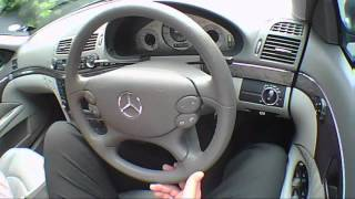 Mercedes-Benz 2008 E Class 2.2 2008 Review (Not Top Gear) EXCLUSIVE.