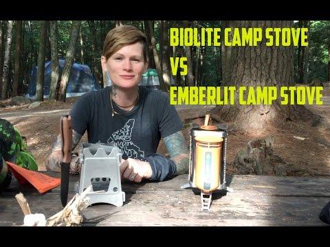 Emberlit vs BioLite Camp Stove Review