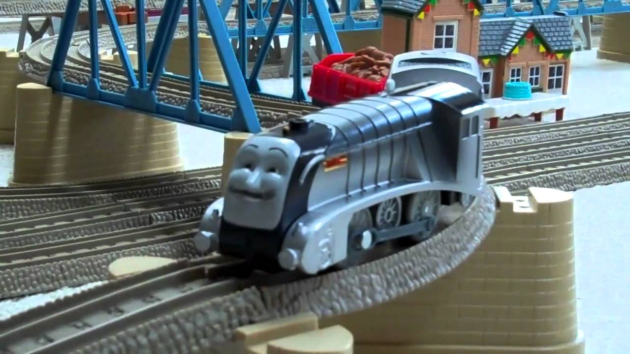 Trackmaster COAL MUSTACHE SPENCER Thomas The Train Kids ...