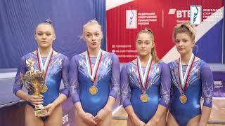 Чемпионат России 2020 среди женщин Интервью с победителями и призёрами в командном первенстве